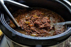 cooking italian beef
